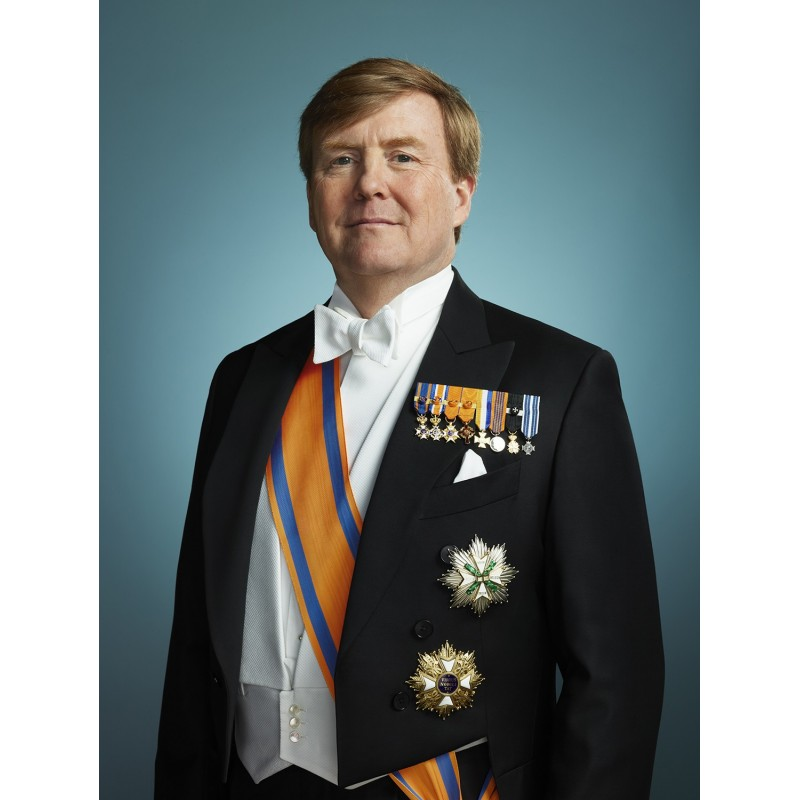 Staatsieportret Willem-Alexander by Erwin Olaf